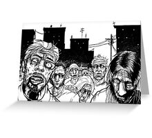 More Zombies Greeting Card