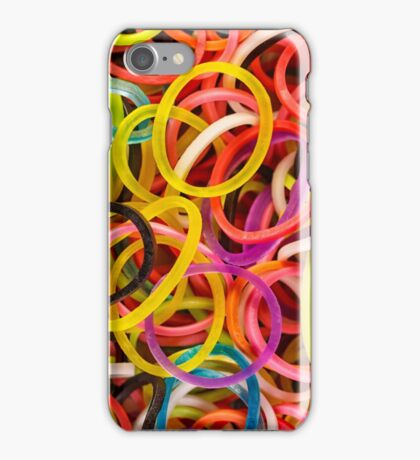 Rubber Bands iPhone Case/Skin