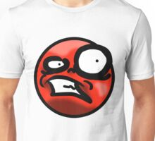WTF Face (Red) Unisex T-Shirt