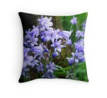 Soft Blue... Throw Pillow