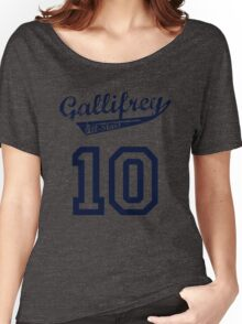 Gallifrey All-Stars: Ten (alt) Women's Relaxed Fit T-Shirt