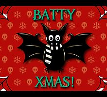 BATTY XMAS! GOTHIC CHRISTMAS by SNUGBAT