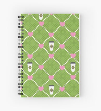 Lima Bean - Klaine  Spiral Notebook