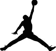 Air Jordan Logo by TheTeeShirtGuy