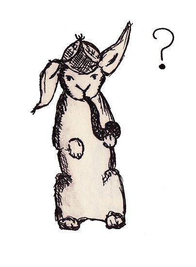 Sherlock Bunny Holmes by samclaire
