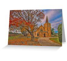 Vineyard Church Greeting Card