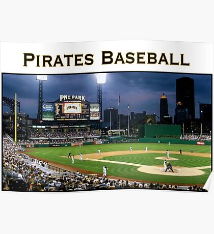 Pirates Baseball Poster