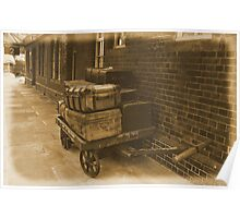 Luggage Trolley. Poster
