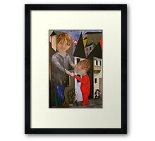 """Dancing with my Dad"" Framed Print"