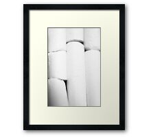 Chalk it up to Experience Framed Print