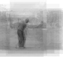 Tiger Woods Overlay by Steve Socha