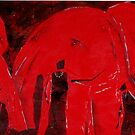 Dancing with Red Elephants by Tom Norton