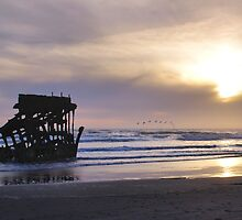 Sunset at Fort Stevens, Oregon by Don Siebel