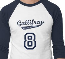 Gallifrey All-Stars: Eight (alt) Men's Baseball ¾ T-Shirt