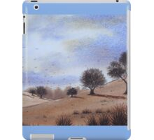 autumn landscape park trees cloudy skies iPad Case/Skin