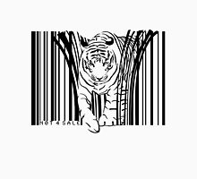endangered TIGER BARCODE illustration Unisex T-Shirt