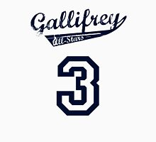 Gallifrey All-Stars: Three (alt) Men's Baseball ¾ T-Shirt