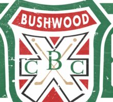 Retro Bushwood 1980 Member Sticker
