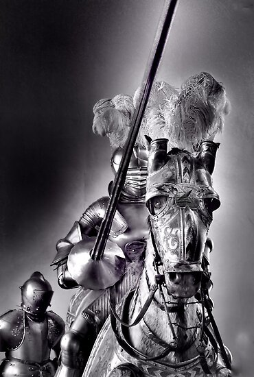 Night in armor by pdsfotoart