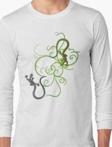 gecko duality Long Sleeve T-Shirt