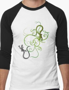 gecko duality Men's Baseball ¾ T-Shirt
