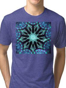 Aqua Diamonds Tri-blend T-Shirt