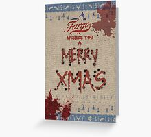 Fargo [Christmas Wishes] Greeting Card
