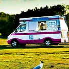 One legged ice cream bandit! by Richard Hepworth