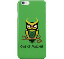 Owl of Mischief iPhone Case/Skin