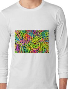 Paper Clips Long Sleeve T-Shirt
