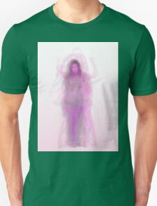 Pink female figure body overlay T-Shirt