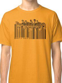 zebra barcode Classic T-Shirt