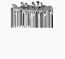 zebra barcode Unisex T-Shirt