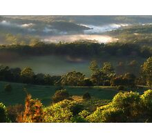 Country Morn... Photographic Print
