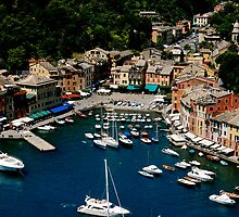 Port of Portofino by cyasick
