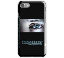 Penography one iPhone Case/Skin