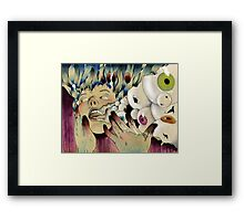 The Expulsion Framed Print