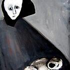 sad young mother by glennbrady