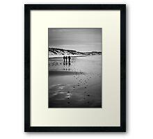 Dunnet Beach, Boxing Day 2010, Caithness, Scottish Highlands Framed Print