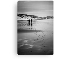 Dunnet Beach, Boxing Day 2010, Caithness, Scottish Highlands Canvas Print