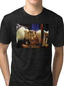 Naughty Woody Tri-blend T-Shirt