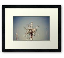 Radio Antenna Framed Print