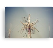 Radio Antenna Metal Print