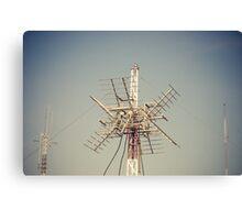 Radio Antenna Canvas Print