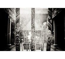 Incense - B&W Photographic Print
