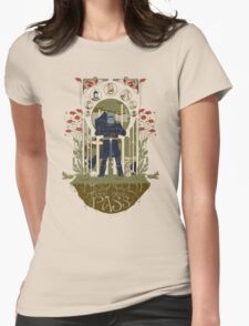 None Shall Pass! Womens Fitted T-Shirt