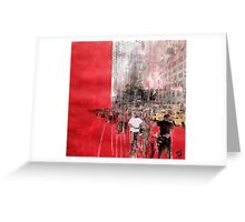 People of NYC Greeting Card
