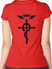 Edward Elric Symbol Women's Fitted Scoop T-Shirt