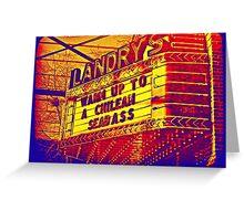 Landry's Greeting Card