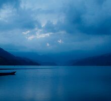 Tranquil Blue by KerryPurnell